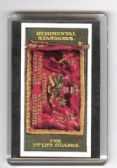 1st LIFE GUARDS REGIMENTAL STANDARD FRIDGE MAGNET
